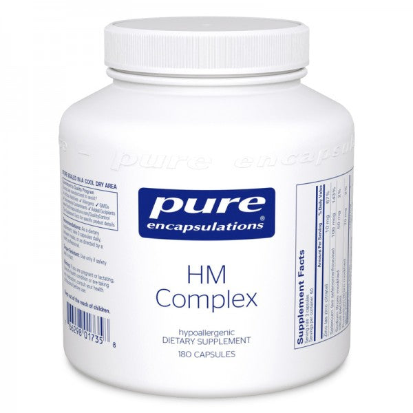 A bottle of Pure HM Complex