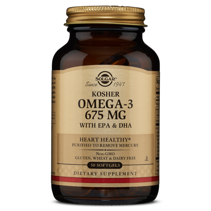 Kosher Omega-3 675mg