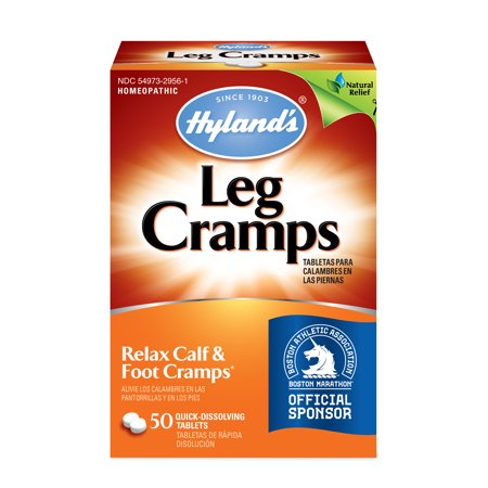 Leg Cramps Tablets - Hyland's - 50 quick-dissolving tablets