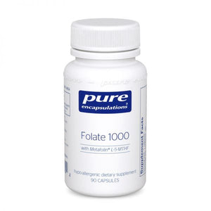 A bottle of Pure Folate 1000