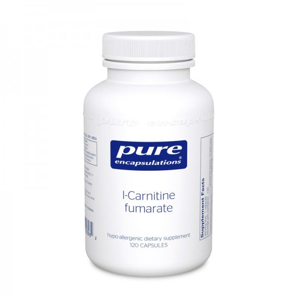 A bottle of l-Carnitine fumarate