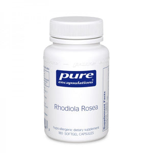 A bottle of Pure Rhodiola Rosea