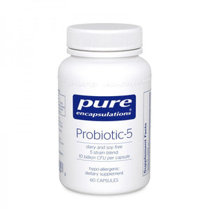 A bottle of Pure Probiotic-5