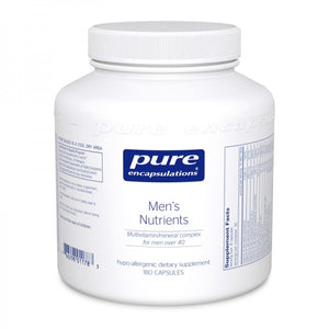 A jar of Pure Men's Nutrients