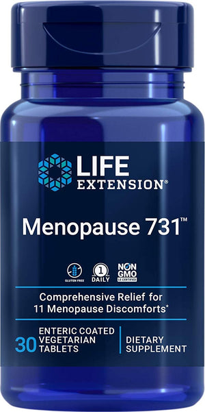 Menopause 731™  Life Extension - 30 enteric coated vegetarian capsules