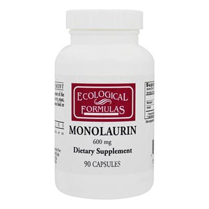 A bottle of Ecological Formulas Monolaurin 600 mg