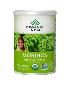 Moringa green superfood Organic India 8 oz