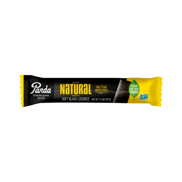 Natural Soft Black Licorice 32 g