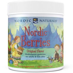 A jar of Nordic Naturals Nordic Berries - Original Flavor
