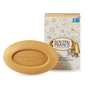 Orange Blossom Honey Bar Soap - South of France - 6 oz