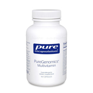 A bottle of Pure PureGenomics® Multivitamin