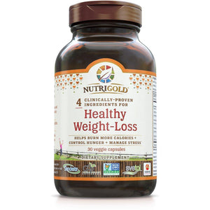 Healthy Weight-Loss - Nutrigold - 30 capsules