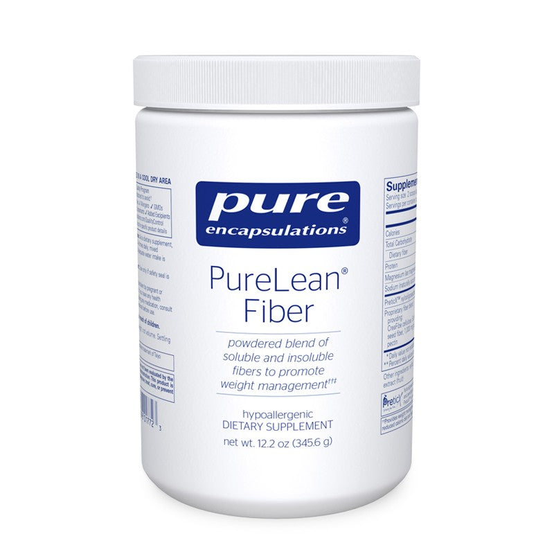 A jar of Pure PureLean® Fiber