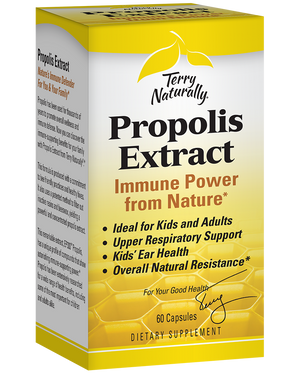 A package of Terry Naturally Propolis Extract