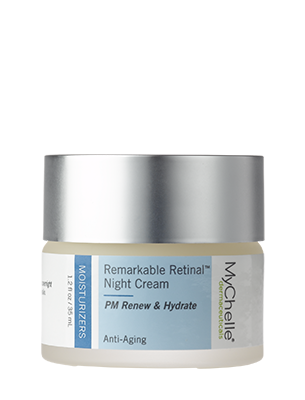 A jar of MyChelle Remarkable Retinal™ Night Cream