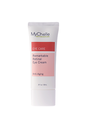 A tube of MyChelle Remarkable Retinal™ Eye Cream