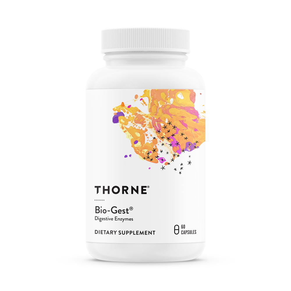 A bottle of Thorne Bio-Gest®