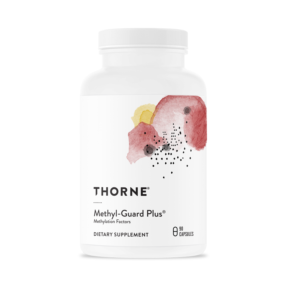 A bottle of Throne Methyl-Guard Plus®