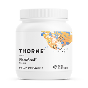 A jar of Thorne FiberMend®