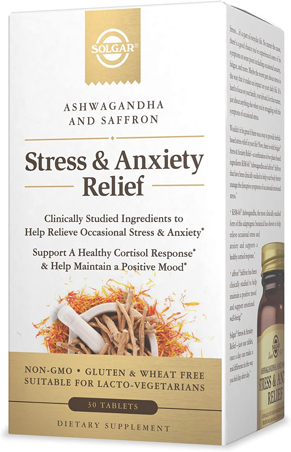 Stress & Anxiety Relief - Solgar - 30 tablets