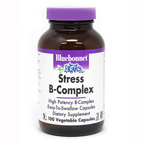 A bottle of Bluebonnet Stress B-Complex