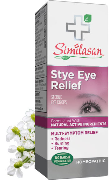 A package of Similasan Stye Eye Relief, 10 Ml