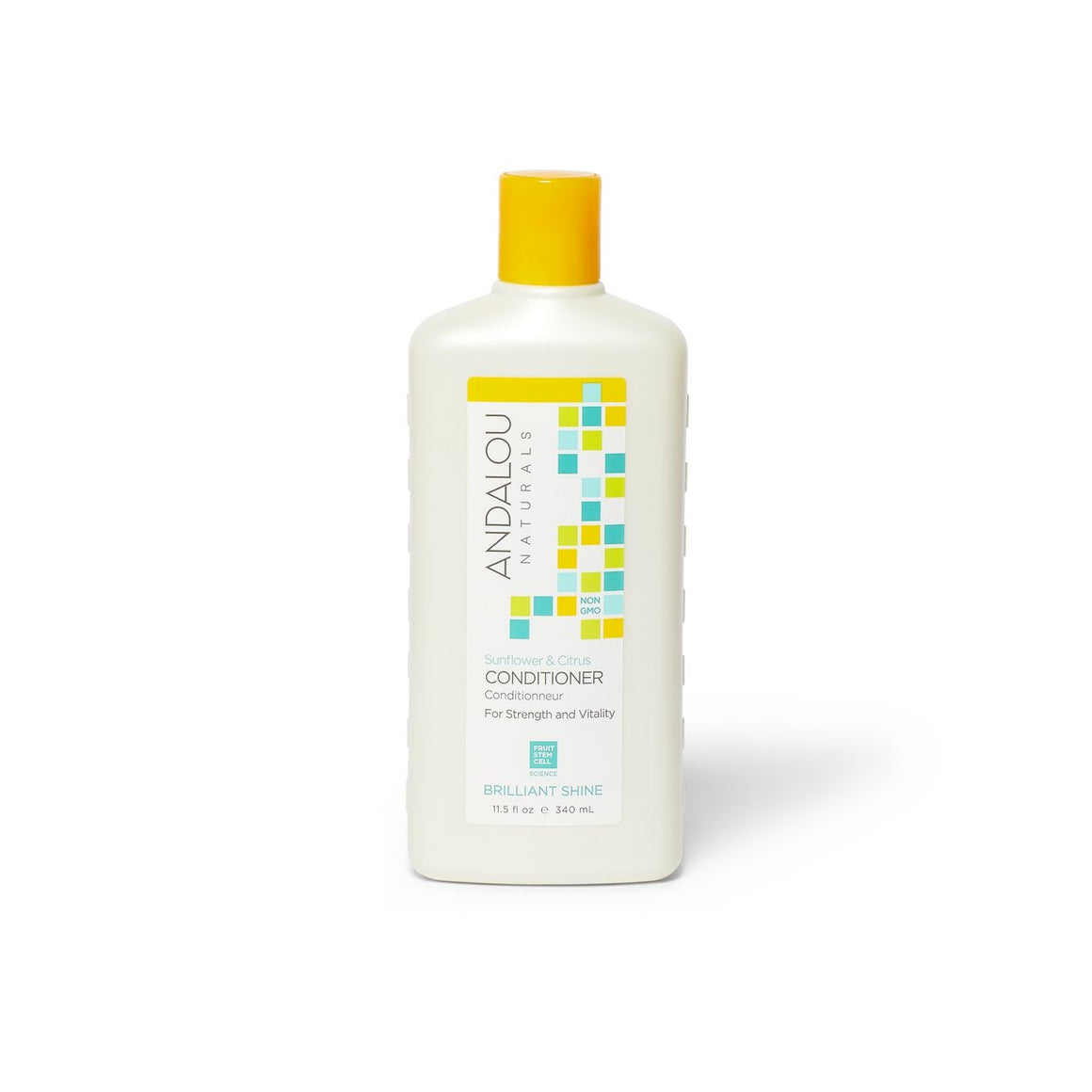 Sunflower & Citrus Brilliant Shine Conditioner - Andalou Naturals