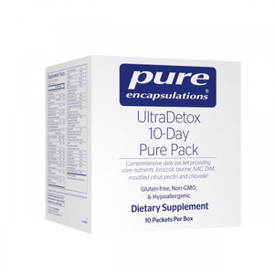 A package of Pure UltraDetox 10-Day Pure Pack