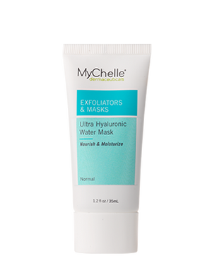 A tube of MyChelle Ultra Hyaluronic Water Mask