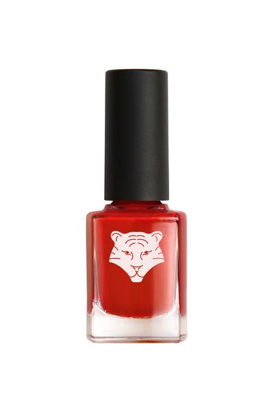 NEW ! Natural & vegan nail lacquer ORANGE RED 206
