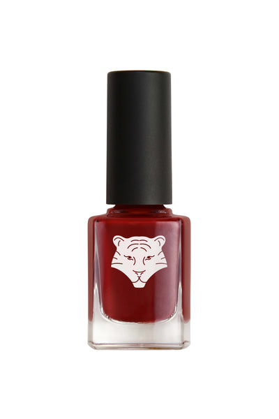 NEW ! Natural & vegan nail lacquer BURGUNDY 207