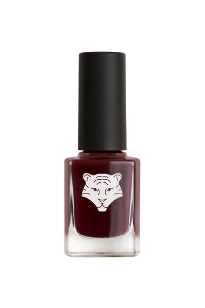 NEW ! Natural & vegan nail lacquer NIGHT RED 208