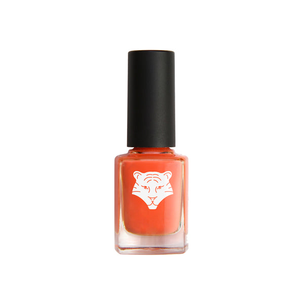 "Nail lacquer CORAL ORANGE 195 ""SEIZE THE MOMENT"""