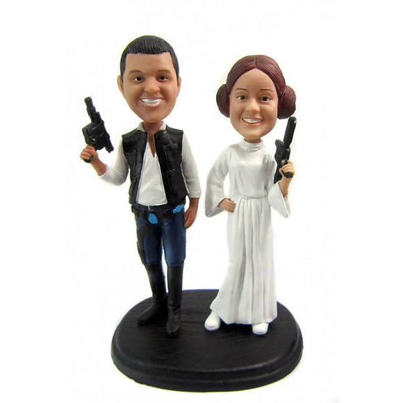 Custom Star Wars Wedding Bobblehead