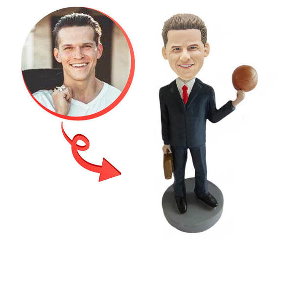 Custom Casual Basketball Bobblehead