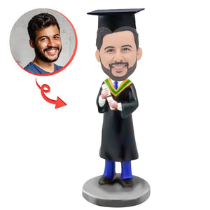 Custom Graduation H Bobblehead