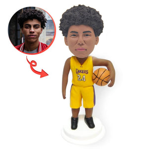 Custom Basketball Lakers Bobblehead