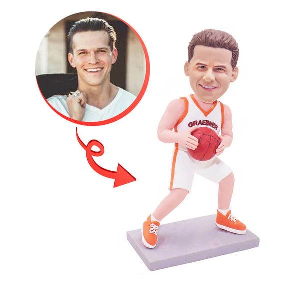 Custom Personalized Basketball Player Bobblehead