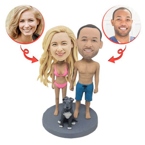 Custom Sexy Couple Wedding Bobbleheads