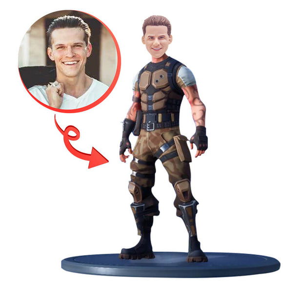 Custom Fortnite Game Bobbleheads C