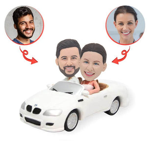 Custom BMW Wedding Cake Topper Bobblehead