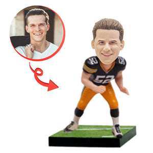 Custom Green Bay Football Payer Bobblehead