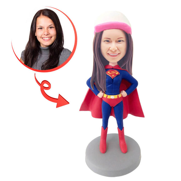 Custom Supergirl Bobblehead