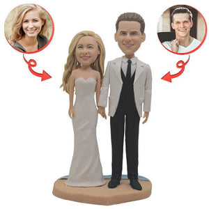 Custom Wedding With Cheongsam Bobblehead