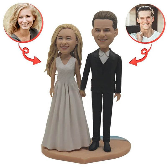 Custom Sweet Wedding Bobblehead