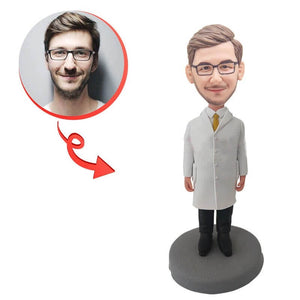 Custom Male Doctor Bobblehead
