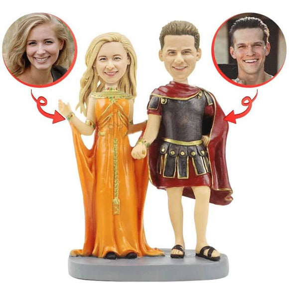 Cutom Royal Wedding Bobblehead