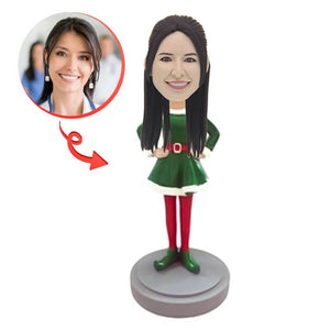 Custom Elf Female Bobblehead