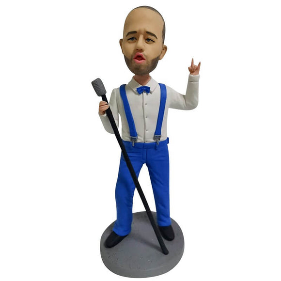 Custom Lead Singer Bobblehead