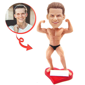 Custom Bodybuilder Bobblehead